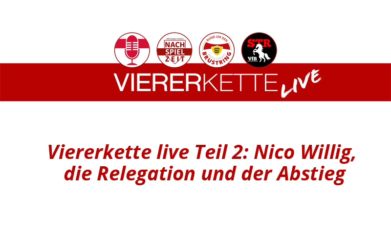 VfB Viererkette live
