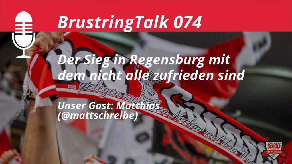 VfB Brustingtalk Podcast gegen Regensburg