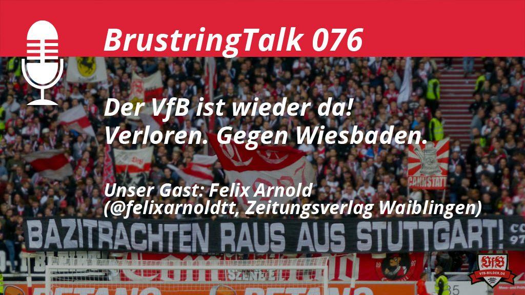 "Teaser VfB Stuttgart Podcast ""Der VfB ist wieder da! Verloren. Gegen Wiesbaden."""
