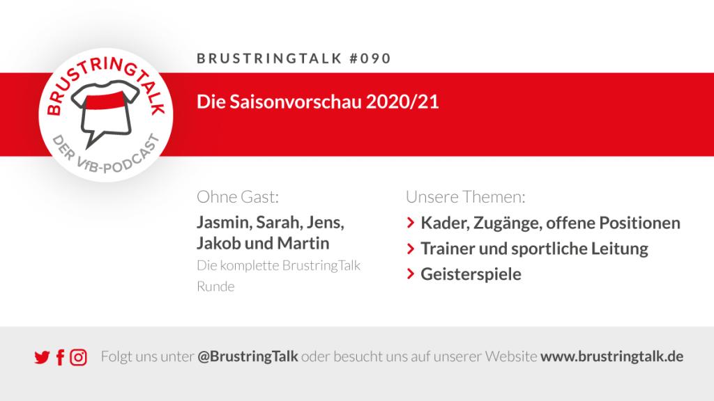 BrustringTalk Ausgabe 90 - Saisonvorschau VfB Stuttgart